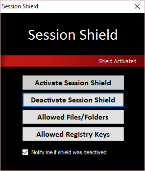 Session Shield